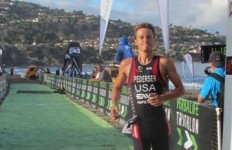 Jason Pederson, finished in second place in the Herbalife Triathlon. Photo courtesy of Herbalife Triathlon Los Angeles
