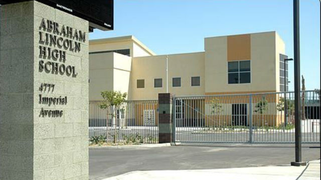 Genial Abraham Lincoln High School In Southeastern San Diego. Photo Courtesy San  Diego Unified