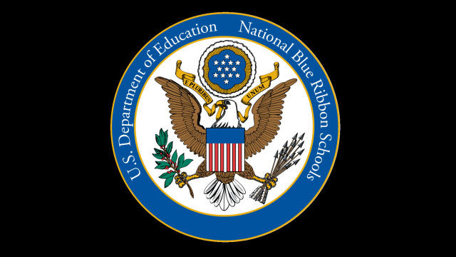 National Blue Ribbon School logo. Courtesy U.S. Department of Education.