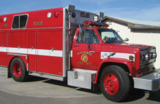 An Oceanside Fire Department rescue vehicle. Photo courtesy Oceanside Fire Department