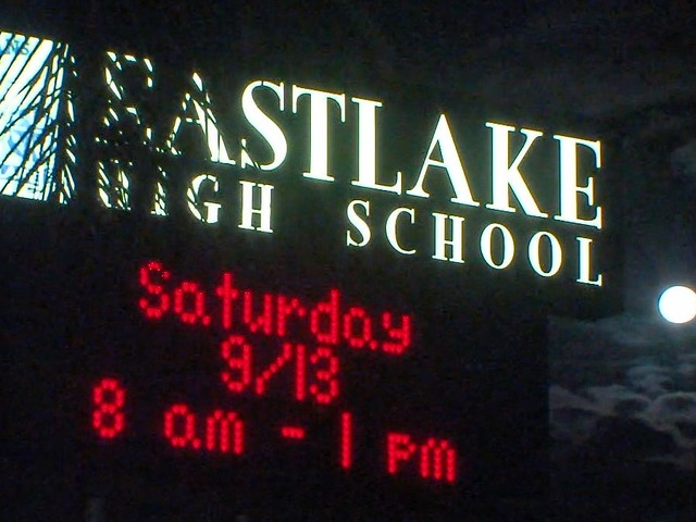 A possible student threat has led to increased security at Eastlake High in Chula Vista. Photo credit: 10News.com