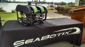 A Seabotix underwater robot.