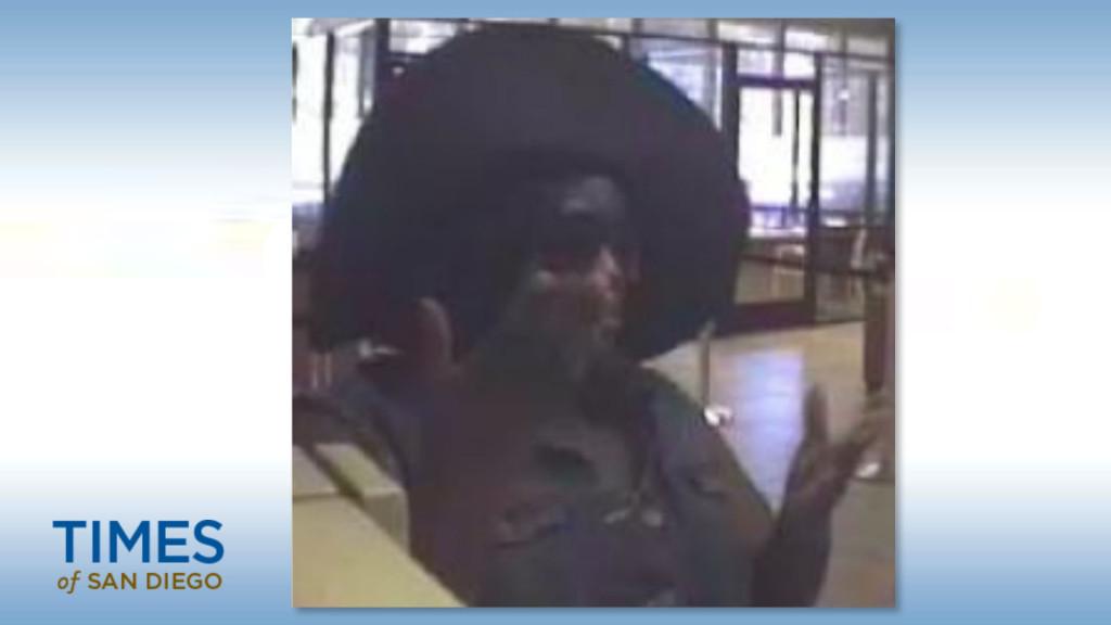 Solana Beach bank robber suspect