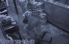 Thomas Keiser fight surveillance video