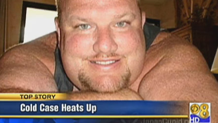 Anthony Edward Simoneau, the suspect in the cold case murder of his wife. Photo credit: CBS8.com