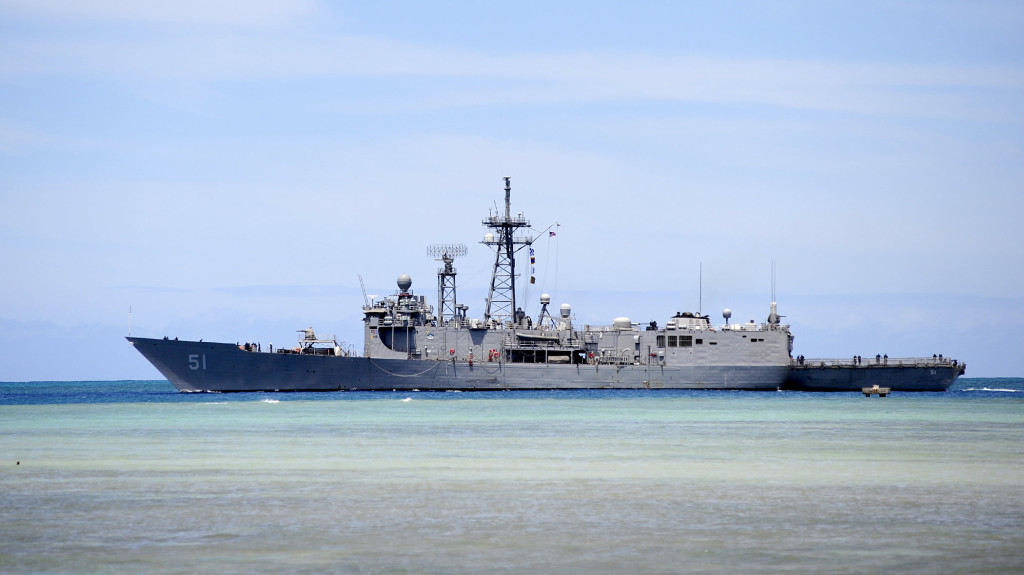 The Navy's USS Gary, which will leave on its final deployment in September 2014. Photo credit: gary.navy.mil