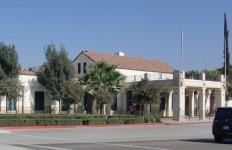 The Tecate Border Station. Photo courtesy Wikimedia Commons.