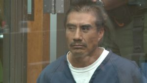 Pedro Rosalino Zurita, 49, faces life behind bars if convicted in the domestic violence death of Ariflor Gonzalez, 37. Photo credit: Fox5SanDiego.com