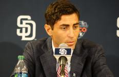 San Diego Padres general manager A.J. Preller. Courtesy of San Diego Padres Facebook.
