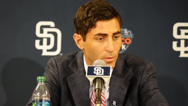 San Diego Padres general manager A.J. Preller. Courtesy of San Diego Padres Facebook.