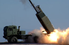 High Mobility Artillery Rocket. Courtesy of U.S. Department of Defense.