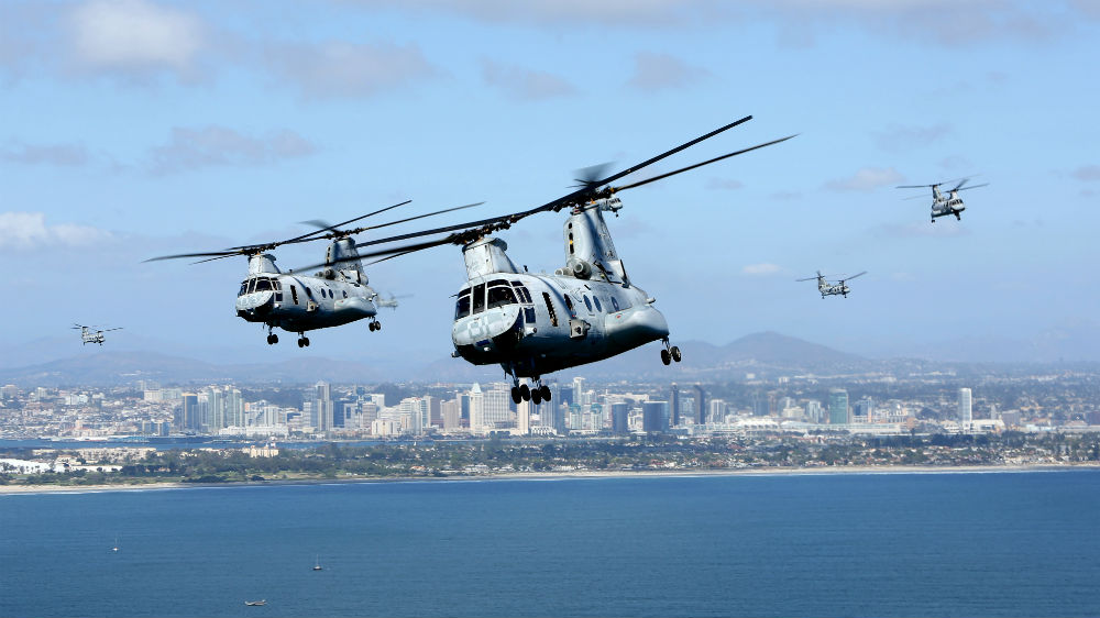 Marines Put Vietnam-Era Sea Knight 'Phrog' Copters to ...