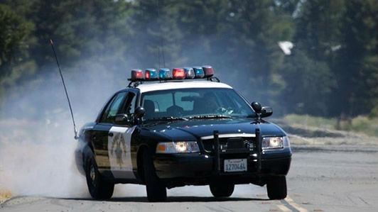 A California Highway Patrol cruiser. Courtesy CHP