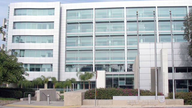 The California State University system's office of the chancellor in Long Beach. Photo via Wikimedia Commons