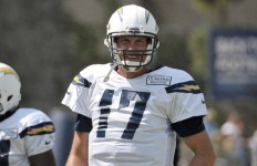San Diego Chargers team member Philip Rivers. Photo by Chris Stone