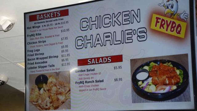 Chicken Charlie S Fair Food