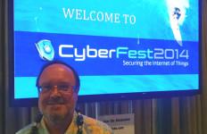 Christian Byrnes of Gartner Inc. at CyberFest2014. Photo by Chris Jennewein