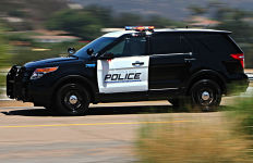An Escondido Police cruiser. Photo courtesy Escondido Police