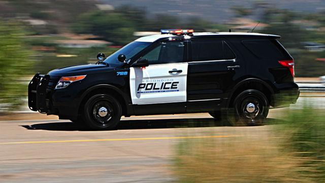 An Escondido Police cruiser. Photo courtesy Escondido Police.
