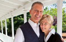 Karen and Tom Mulvaney.  Photo courtesy USD