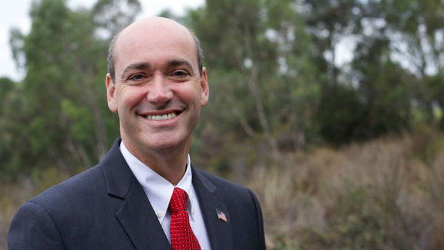 Kevin Beiser, president of the San Diego Unified School District board of trustees. Campaign photo