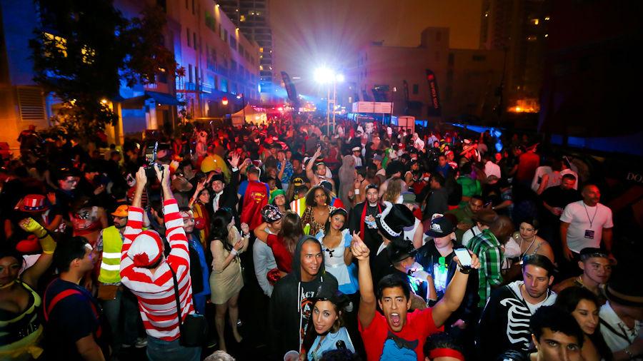 Halloween San Diego san diego halloween monster bash 2015 gaslamp party pubclub The 2013 Monster Bash In The Gaslamp District Courtesy San Diego Monster Bash