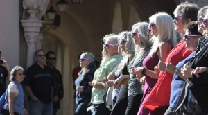 San Diegans gathered Saturday to learn about letting their hair naturally go gray with pride and confidence.