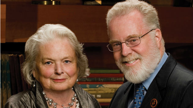 Susan and Stephen Weber in 2011. Photo by David Friend and courtesy SDSU