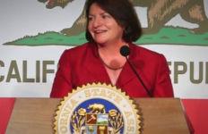 Toni Atkins, speaker of California Assembly.