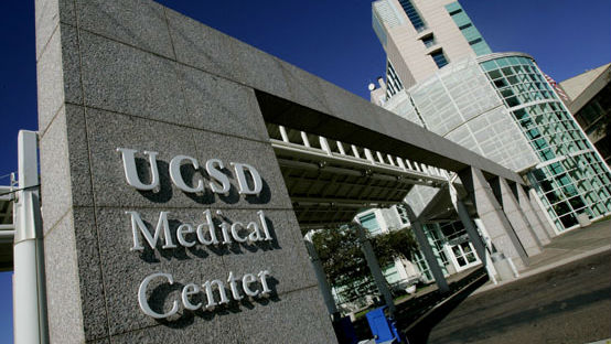 UC San Diego Medical Center in Hillcrest. Photo courtesy UCSD