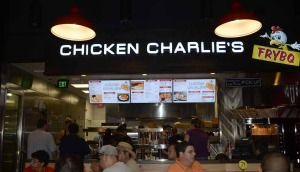 Fair food fans came by Chicken Charlie's FryBQ to get a taste of chicken and fried Oreos.
