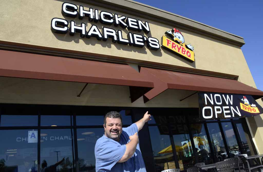 In Clairemont, Charlie Boghosian opened the first restaurant in his 31-year culinary career.