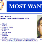 Randy Mark Yager wanted poster