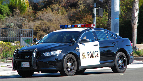 Chula Vista police cruiser. Courtesy of So Cal Metro Flickr