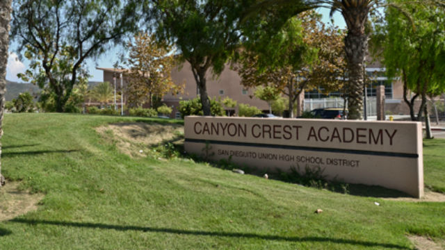 Canyon Crest Academy in Carmel Valley. Photo courtesy of the school
