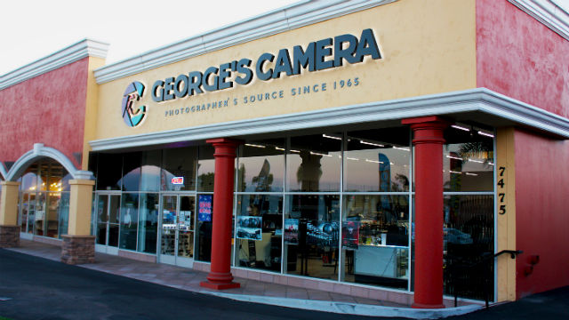 George's Camera store in Clairemont, one of two operated by the San Diego company. Photo courtesy George's Camera