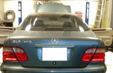 The Border Patrol released this photo of the 2002 Mercedes-Benz in which the meth was found.