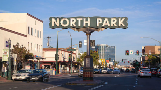 North Park is one of the San Diego neighborhood observing Small Business Saturday. Photo via Wikimedia Commons