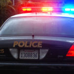 A San Diego police cruiser