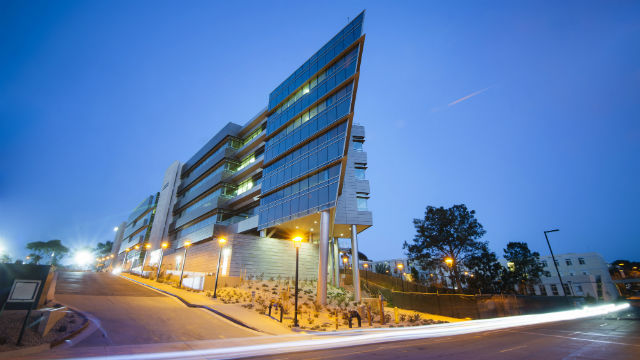 The Rady School of Management at UC San Diego. Courtesy UCSD