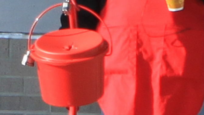 Salvation Army Kettle ~ Salvation army s red kettle campaign starts with tree