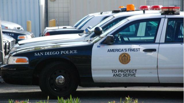 San Diego Police cruisers. Photo by Chris Stone