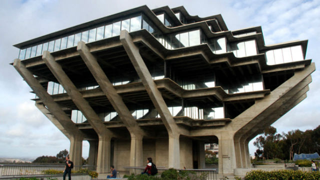 The Geisel Library at UC San Diego. Photo by Chris Stone