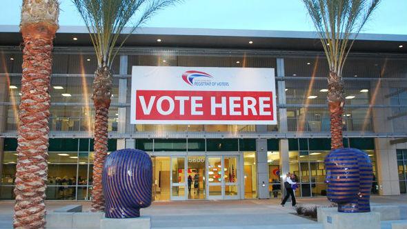 Vote Here 16-9