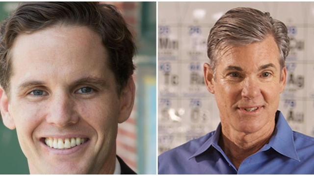 Candidates for Superintendent of Public Instruction Marshall Tuck, left, and Tom Torlakson, right. Photos courtesy Tom Torlakson and Marshall Tuck.