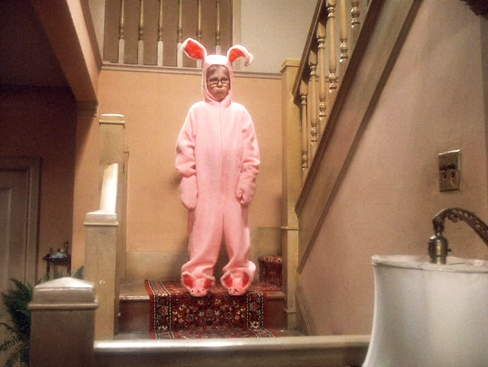 a christmas story pink bunny pajama - A Christmas Story Bunny