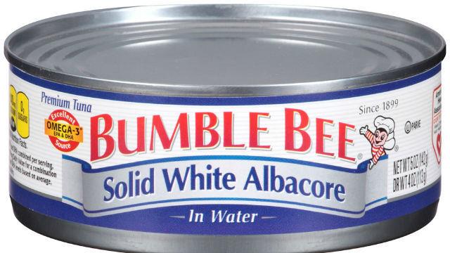 Bumble Bee Tun Can