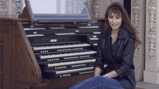 San Diego Civic Organist at the Spreckels Organ.