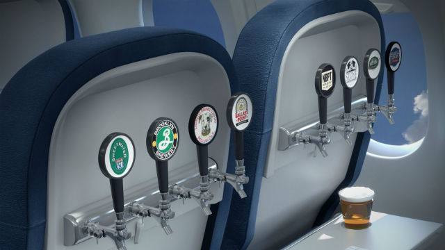An image from Delta's regional craft brew promotion. Courtesy of the airline
