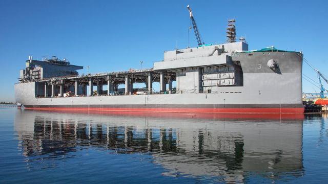 General Dynamics NASSCO Navy mobile platform